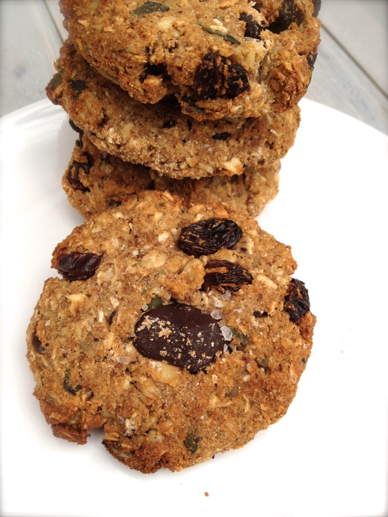 cow crumbs, cookies, kitchen sink cookies, gluten free, dairy free, allergen free, vegan, trail mix cookie, healthy cookie