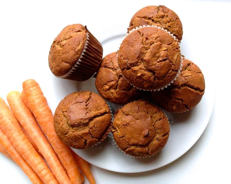 cow crumbs, gluten free, dairy free, vegan, gluten free carrot cake, gluten free carrot muffins, gluten free baking, easter dessert