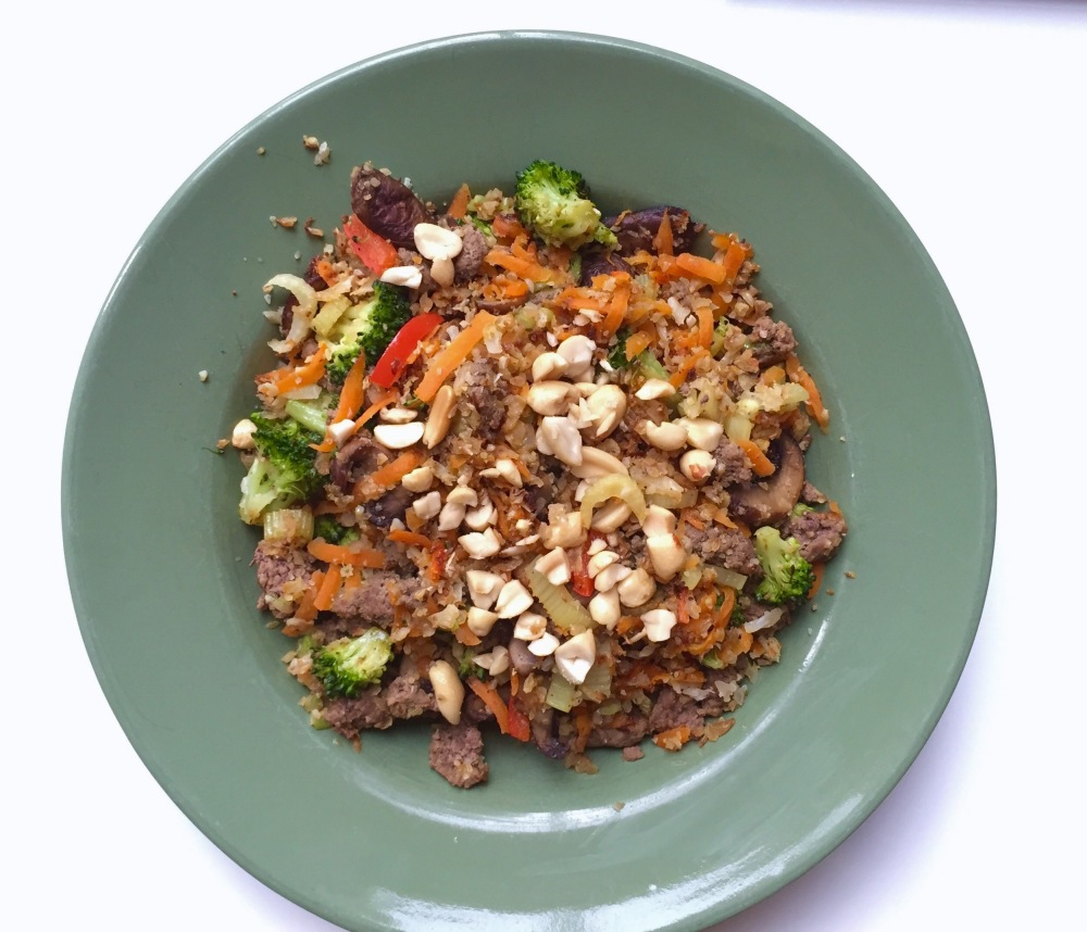 Beef Stir fry with Cauli Rice (1)