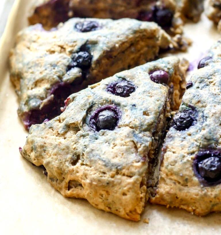 Gluten free vegan scone