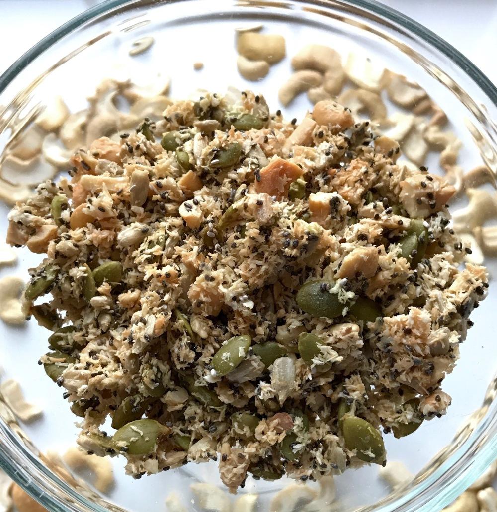 Cashew Gluten free granola