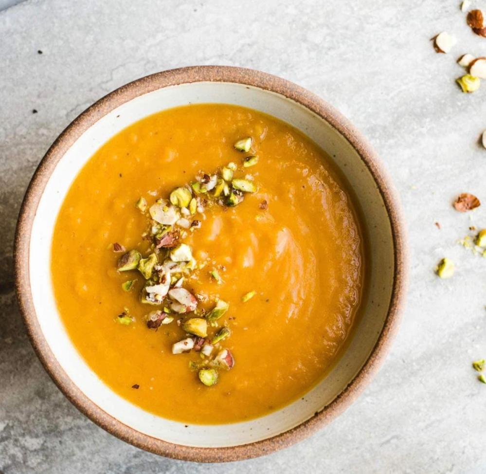 Squash Pistachio Soup